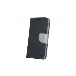 Husa HUAWEI P9 Lite Mini - Fancy Book (Negru&Gri)