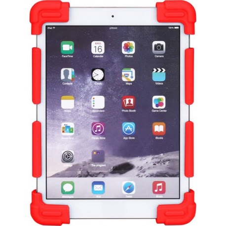 """Husa Tableta Silicon Defender (9 - 12"""") (Rosu)"""