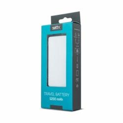 Baterie Externa 5200 mAh (Alb) Setty