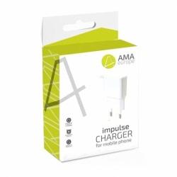 Incarcator 1A cu Mufa Lightning (Alb) AMA