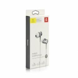 Casti Audio cu Microfon (Argintiu) BASEUS Lark Series