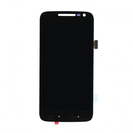 Display + Touchscreen si Rama LENOVO Moto G4 (Negru)