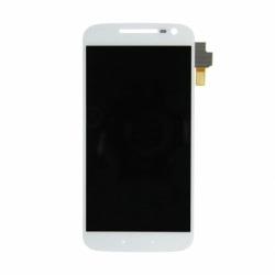 Display + Touchscreen si Rama LENOVO Moto G4 (Alb)