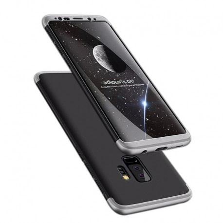 Husa SAMSUNG Galaxy S9 Plus - 360 Grade (Negru cu Argintiu)
