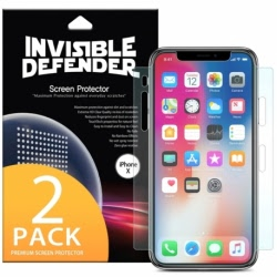 Folie de Protectie Full Cover APPLE iPhone X / XS (2 buc.) RINGKE