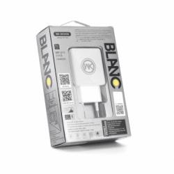 Incarcator 2.1A + Cablu Lightning (Alb) WP-U11