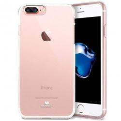 Husa APPLE iPhone 7 / 8 - Jelly Clear (Transparent) Anti-Ingalbenire
