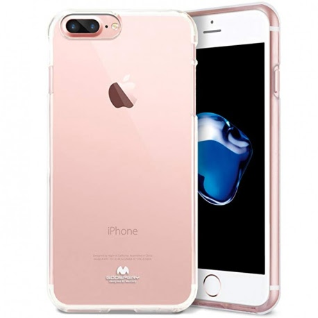 Husa APPLE iPhone 7 / 8 - Jelly Clear (Transparent) Anti-Ingalbenire