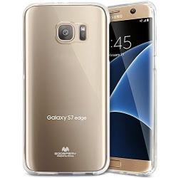 Husa SAMSUNG Galaxy S7 Edge - Jelly Clear (Transparent) Anti-Ingalbenire