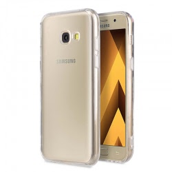 Husa SAMSUNG Galaxy A5 2017 - Jelly Clear (Transparent) Anti-Ingalbenire