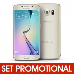 Set Promotional - Folie de Protectie + Husa Silicon pentru SAMSUNG Galaxy S6 Edge