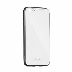Husa SAMSUNG Galaxy J4 Plus 2018 - Glass (Alb)