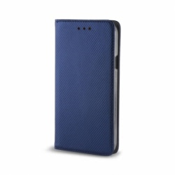 Husa SAMSUNG Galaxy J4 Plus 2018 - Smart Magnet (Bleumarin)