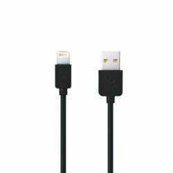 Cablu Date & Incarcare APPLE Lightning Fast Charge - 1 Metru (Negru) REMAX RC-006I