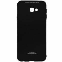 Husa SAMSUNG Galaxy J4 Plus 2018 - Glass (Negru)