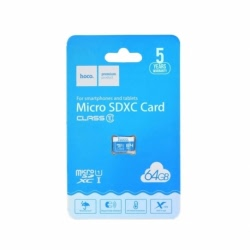 Card MicroSD 64GB (Clasa 10) Hoco