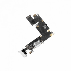 Banda flex cu conector de incarcare pentru iPhone 6 (Alb)