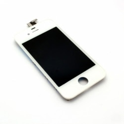 Inlocuire LCD + Panou Touch APPLE iPhone 4 (Alb)