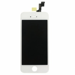 Inlocuire LCD + Panou Touch APPLE iPhone 5 (Alb)