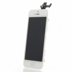 Inlocuire LCD + Panou Touch APPLE iPhone 5S (Alb)