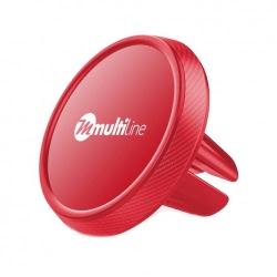 Suport Auto Universal Magnetic pentru Ventilatie (Rosu) MultiLine