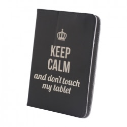 "Husa Universala Tableta 9-10"" (Keep Calm)"