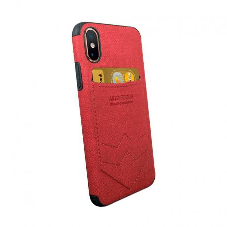 Husa SAMSUNG Galaxy M10 - Focus Pocket (Rosu)