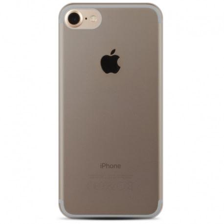 Husa APPLE iPhone 7 Plus \ 8 Plus UltraSlim (Transparent) + Folie Flexibila (Alb) REMAX Crystal
