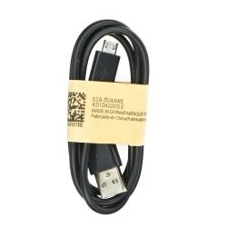 Cablu Date & Incarcare MicroUSB (Negru) ECB-DU4AWE BULK