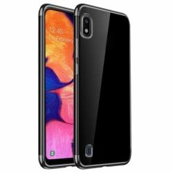 Husa SAMSUNG Galaxy A10 - Plating Soft (Negru)