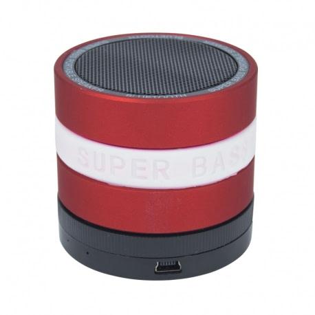 Boxa Portabila Bluetooth (Rosu) BL-18