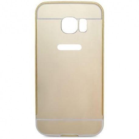 Husa SAMSUNG Galaxy S6 Edge - Mirror Metal (Auriu)