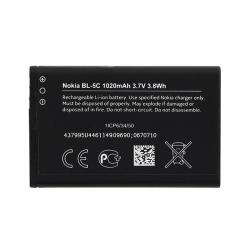 Acumulator Original NOKIA 3100 / 3650 / 6230 / 3110 Classic BL-5C (1020 mAh)
