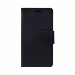 Husa WIKO U Feel Lite - Fancy Book (Negru)