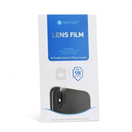 Folie de Protectie Flexibila pentru Camera HUAWEI P30 Pro (Transparent) BESTSUIT
