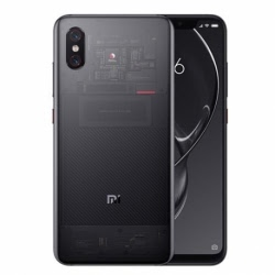 Husa XIAOMI Mi 8 Explorer + Folie Siliconata Full Face (Transparent) Ipaky Effort