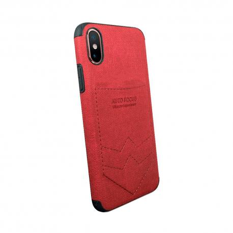 Husa SAMSUNG Galaxy A10 - Focus Pocket (Rosu)