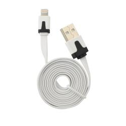 Cablu Date & Incarcare Plat APPLE Lightning - 2 Metri (Alb)