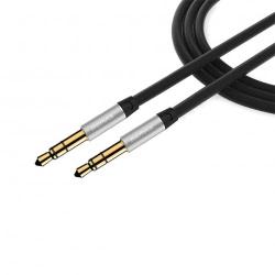 Cablu Jack - Jack (Negru) REMAX - 2 Metri