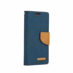 Husa LG X Screen - Canvas Book (Bleumarin)