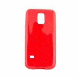 Husa SAMSUNG Galaxy S5 Mini - Silicon Candy (Rosu)