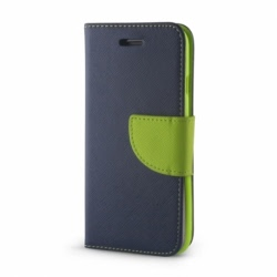 Husa SAMSUNG Galaxy S3 - Leather Fancy TSS, Bleumarin