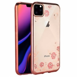 Husa APPLE iPhone 11 - Luxury Glare TSS, Roz-Auriu