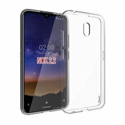 Husa NOKIA 2.2 - Luxury Slim 0.5mm TSS, Transparent