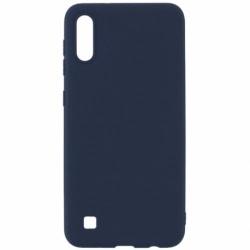 Husa SAMSUNG Galaxy A10 - Luxury Slim Mat TSS, Bleumarin
