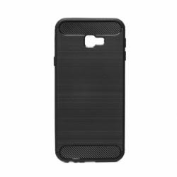 Husa SAMSUNG Galaxy J4 Plus 2018 - Luxury Carbon TSS, Negru