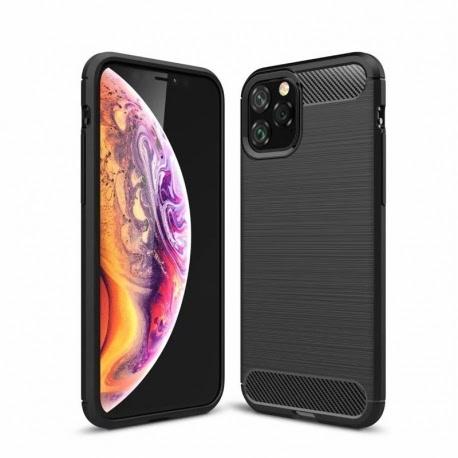 Husa APPLE iPhone 11 Pro Max - Luxury Carbon TSS, Negru