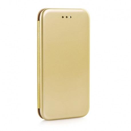 Husa SAMSUNG Galaxy J5 (2016) - Flip Elegance Premium TSS, Auriu