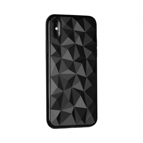 Husa APPLE iPhone 6\6S - Luxury Prism TSS, Negru