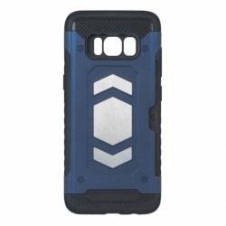 Husa SAMSUNG Galaxy J4 Plus 2018 - Luxury Armor Magnetic TSS, Bleumarin